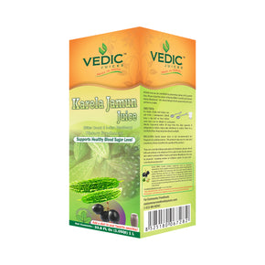 Vedic Karela Jamun Juice 1L | Supports Healthy Blood Sugar Level