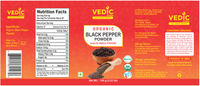 Vedic Organic Black Pepper Powder (100gm)