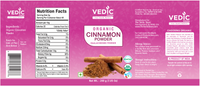 Vedic Organic Cinnamon Powder (200gm)