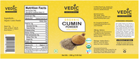 Vedic Organic Cumin Powder (200gm)