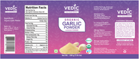 Vedic Organic Garlic Powder (200gm)