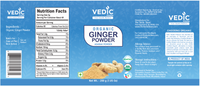 Vedic Organic Ginger Powder (200gm)