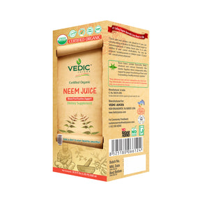Vedic Organic Neem Juice | Blood Purification Support
