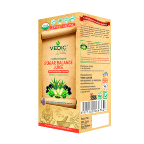 Vedic Organic Sugar Balance Juice | Healthy Blood Sugar Support, Super Blend