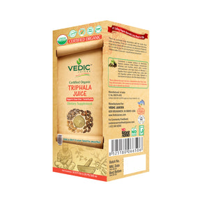 Vedic Organic Triphala Juice | Supports Clean Colon Detoxification