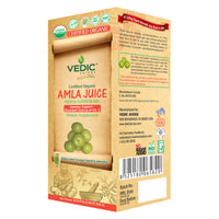 Vedic Organic Amla Juice | Immunity Boosting, Excellent Source of Vitamin C
