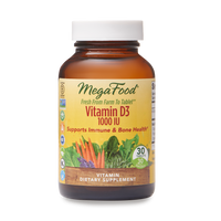 Vitamin D-3 1000 IU | Mega Food | The Vedic Store