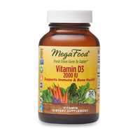 Vitamin D-3 2000 IU | Mega Food | The Vedic Store