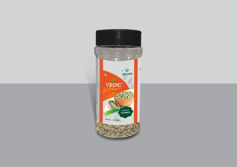 Organic Fennel (200gm) | Vedic | The Vedic Store