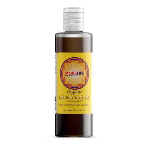 Lakshmi Body Oil (Chandanadi Oil) Hair Beauty & Skin Radiance - TheVedicStore.com