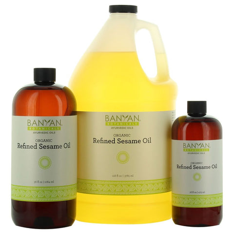 Sesame Oil, Refined | Banyan Botanicals | The Vedic Store