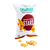 Banana & Honey Stars (4-Pack/20-Pack) - TheVedicStore.com