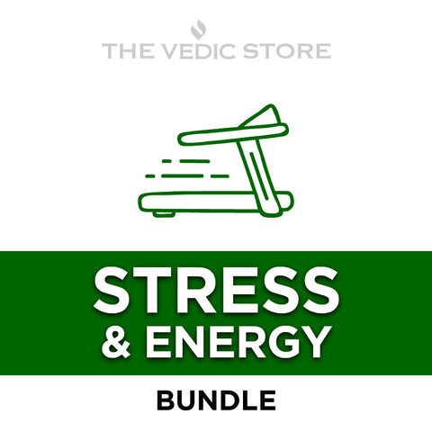 Stress & Energy Bundle | The Vedic Store | The Vedic Store