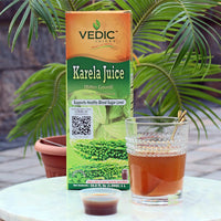 Vedic Karela Juice - Supports Healthy Blood Sugar Level (Bitter Gourd/Bitter Melon) | PREORDER, Ships by October 15