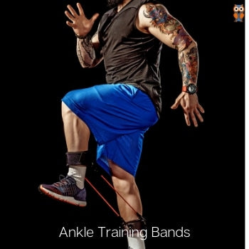 Ankle training resistance bands