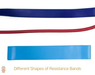 Different Shapes of resistance bands