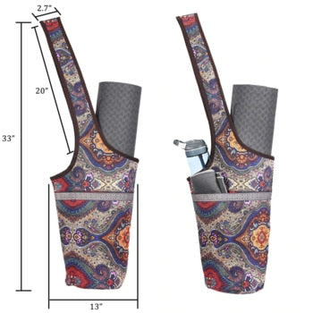 Dimensions of multifunctional mat storage backpack
