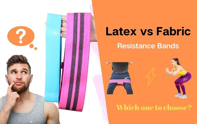 Latex vs Fabric Resistance Bands - Detailed in-depth Visual Comparison
