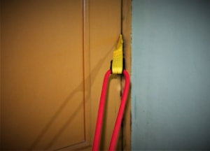 Make use of door anchors for resistance bands