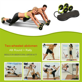 Muti-purpose banded abdominal abs roller
