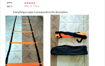 Reviews of Premium material fo agility training ladder for athletes