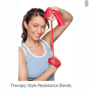 Therapy style resistance bands