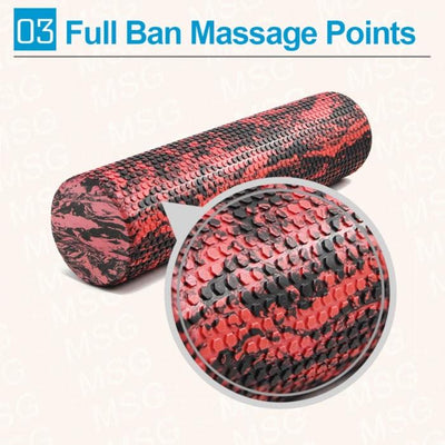 60/45cm Massage Foam Roller - Unique Addict