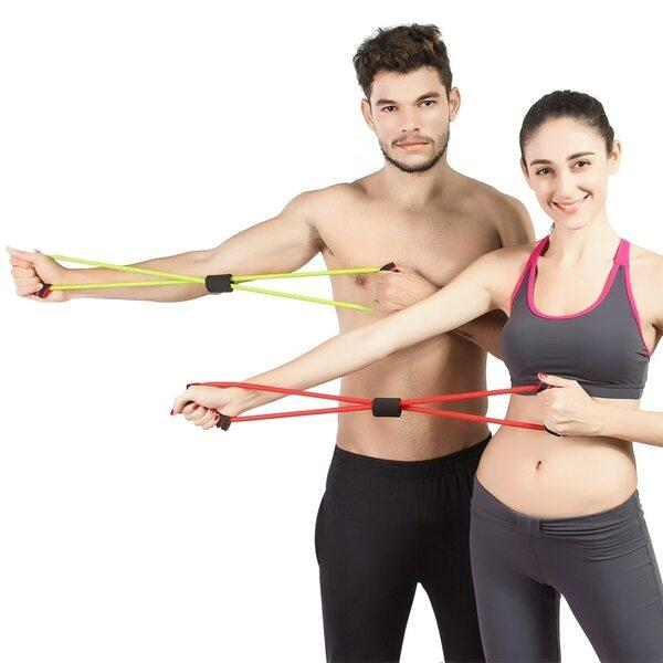Buy Figure 8 Resistance Band - Made With Natural Rubber - Unique Addict
