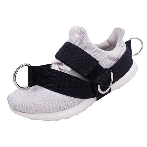 Buy Shoe Strap For Resistance Bands - Slip Proof | 4 Ring Arrangement - Unique Addict