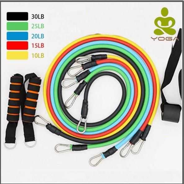 Full Body Resistance Band Combo – 5 Level - Unique Addict