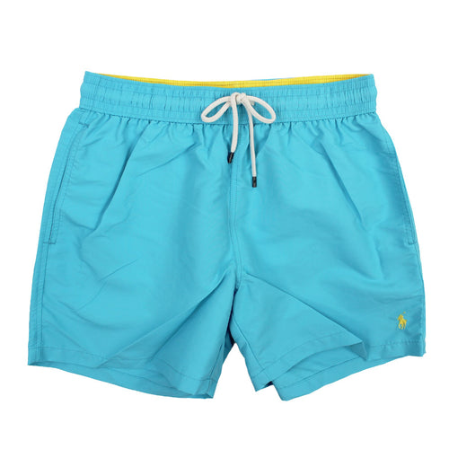 Polo Ralph Lauren - Traveller Swim Shorts in Aqua Blue - Nigel Clare