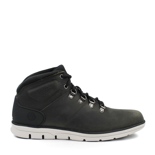 Timberland - Bradstreet Mid Hiker Boots in Dark Grey Full Grain - Nigel Clare