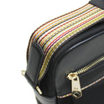 Paul Smith - Signature Stripe Shoulder Bag in Black - Nigel Clare