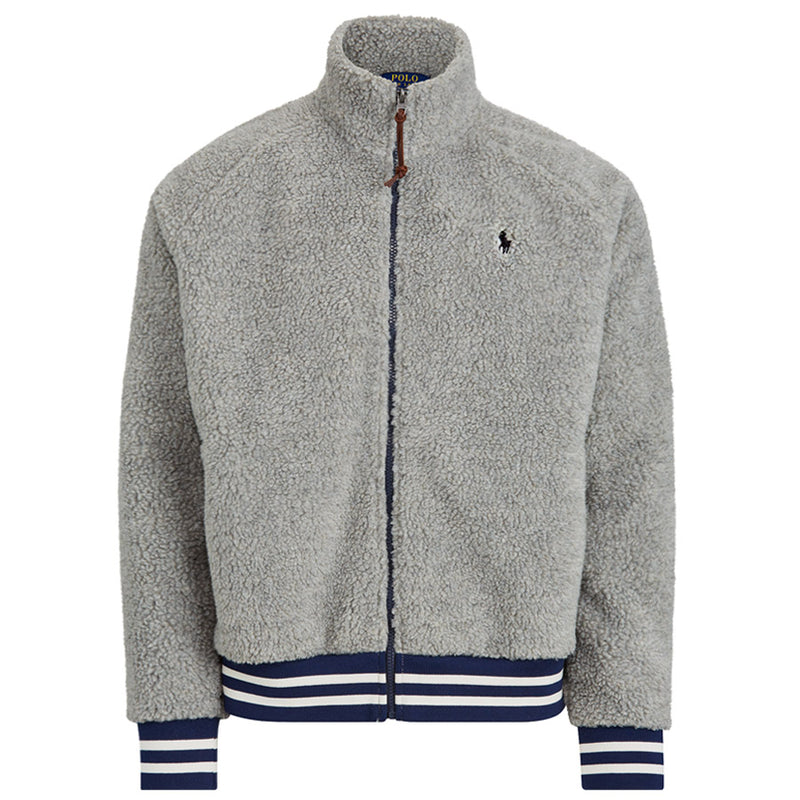 Polo Ralph Lauren - Fleece Track Jacket in Grey - Nigel Clare