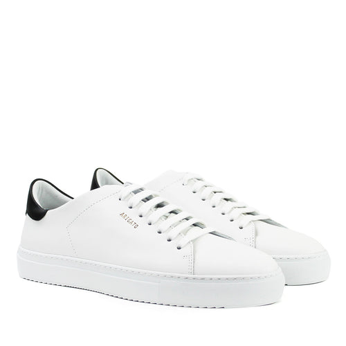 Axel Arigato - Clean 90 Contrast Trainers in White/Black - Nigel Clare