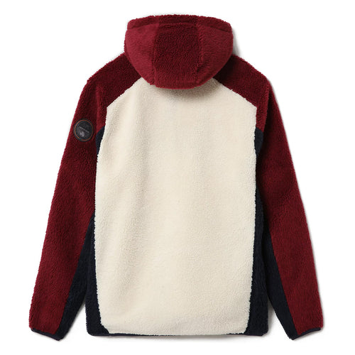 Napapijri - Teide Half Zip Fleece in Navy/Red/Cream - Nigel Clare