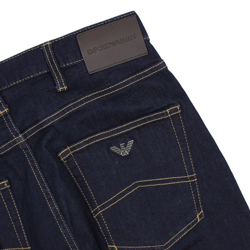 Emporio Armani - J45 Regular Fit Dark Navy Jeans - Nigel Clare