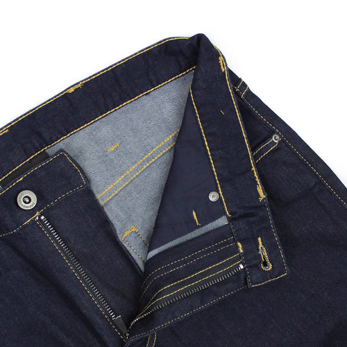 Emporio Armani - J45 1DLPZ Regular Fit Jeans in Dark Navy - Nigel Clare