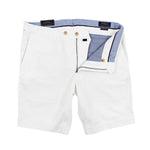 Polo Ralph Lauren - Slim Fit Chino Shorts in White - Nigel Clare