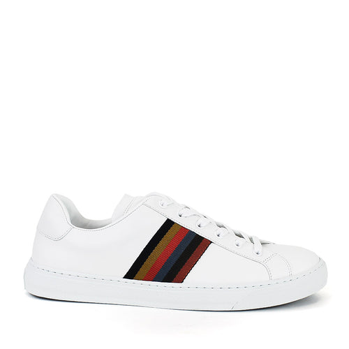 Paul Smith - Hansen Artist Stripe Trainers in White