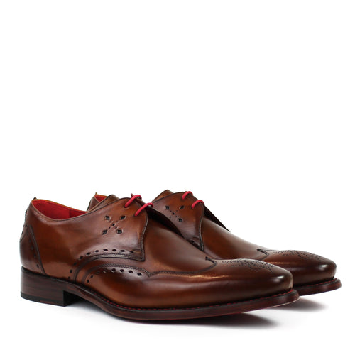 Jeffery West - Aro S Hunger Shoes in Caramel Shadow Crust - Nigel Clare