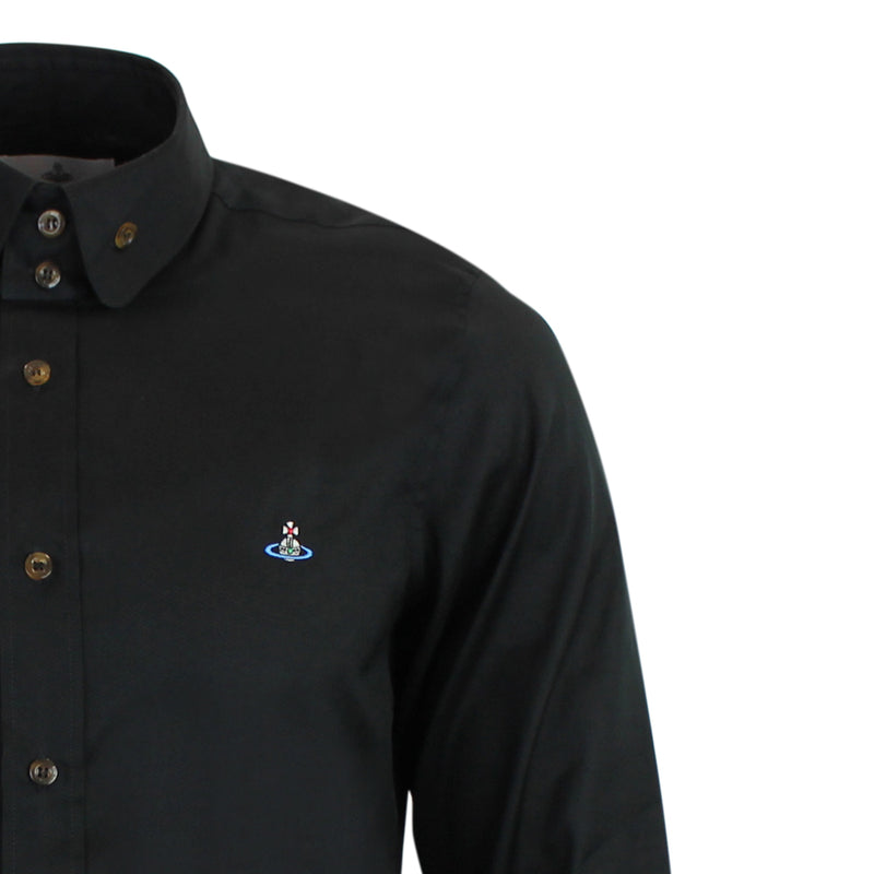 Vivienne Westwood - Classic Two Button Shirt in Black - Nigel Clare