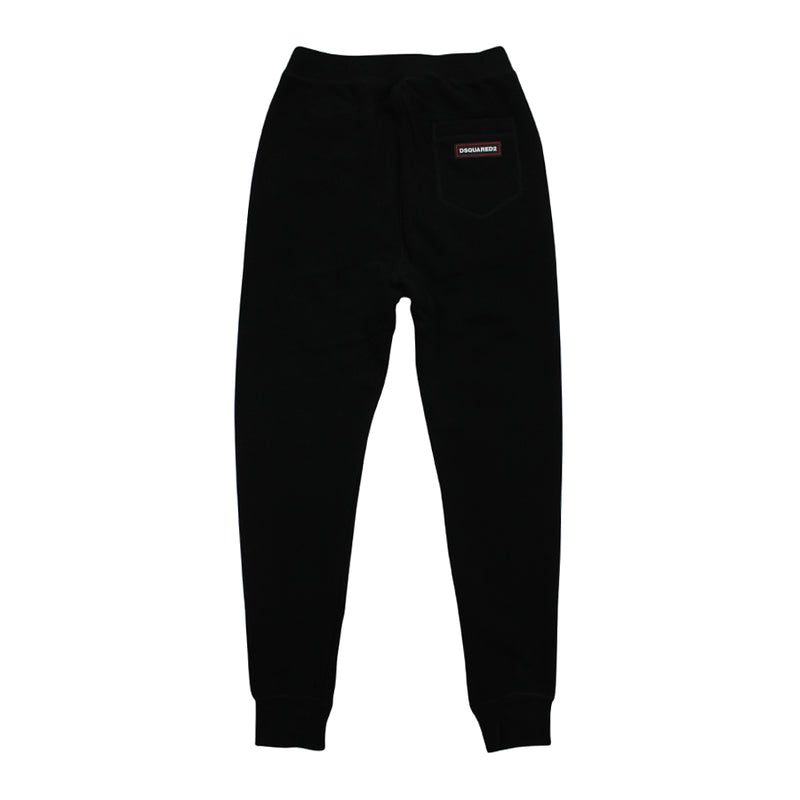 DSQUARED2 - Tapered Joggers in Black - Nigel Clare