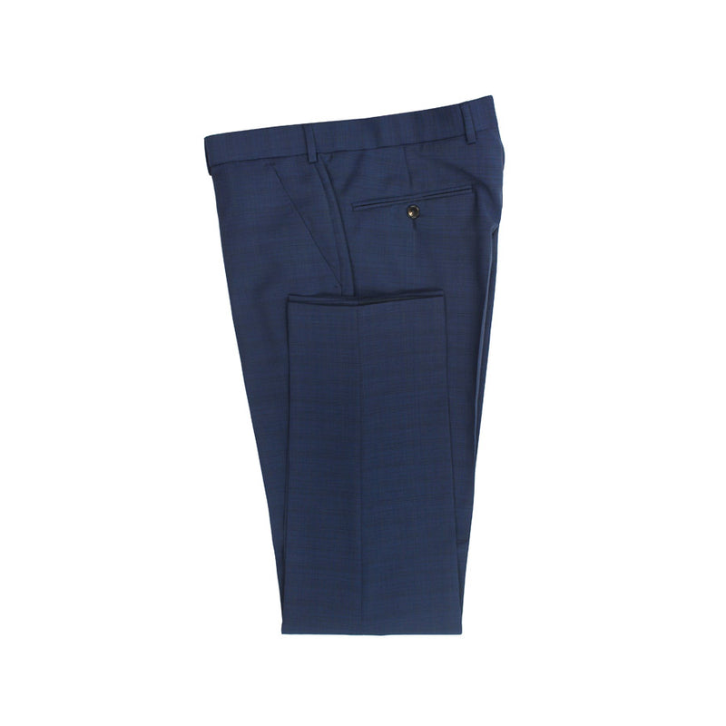 Ted Baker - Parrotn Sterling Dark Blue Check 3-Piece Suit - Nigel Clare