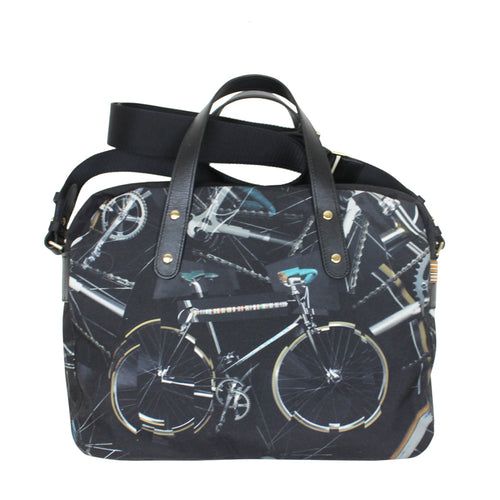 Paul Smith - 'Paul's Bike' Canvas Print Folio Bag - Nigel Clare