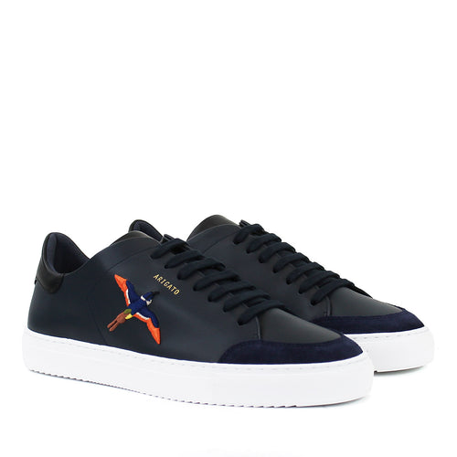 Axel Arigato - Clean 90 Bee Bird Trainers in Navy - Nigel Clare