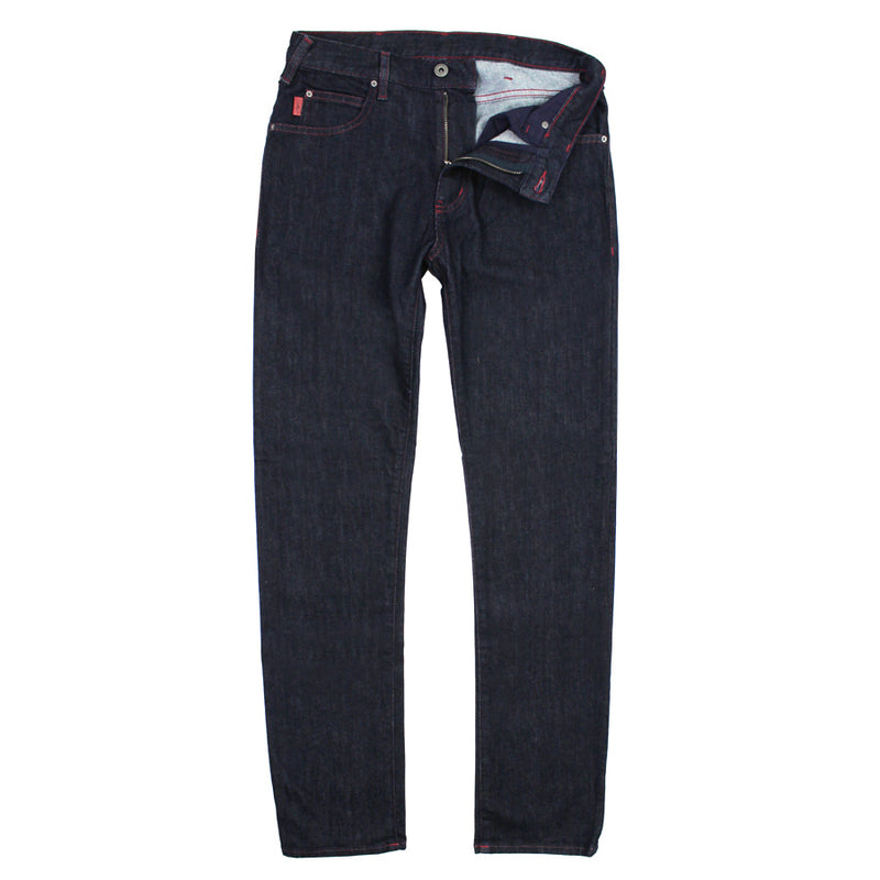Emporio Armani - J45 1D7TZ Regular Fit Dark Navy Jeans - Nigel Clare