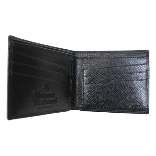 Vivienne Westwood - Kent Billfold Wallet in Black - Nigel Clare