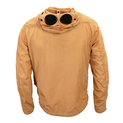 CP Company - Chrome Goggle Hooded Overshirt in Orange - Nigel Clare