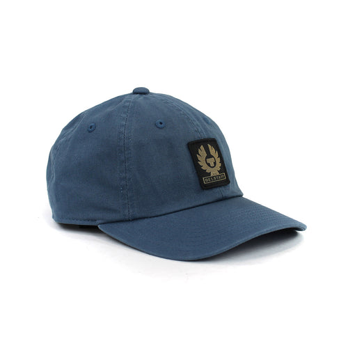 Belstaff - Phoenix Logo Cap in Airforce Blue - Nigel Clare